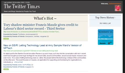 twitter times frontpage